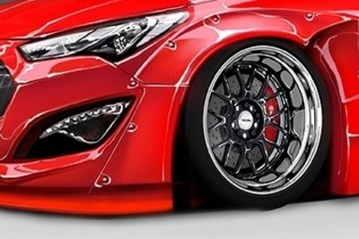 2015 Hyundai Genesis Coupe By Blood Type Racing Exterior - image 571981