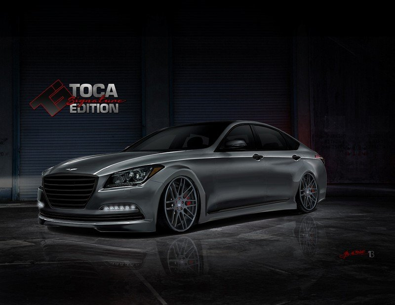 2015 Hyundai Genesis Steel Phoenix by Toca Marketing Group