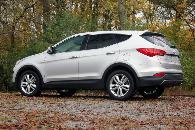 2014 Hyundai Santa Fe Sport Driven Top Speed