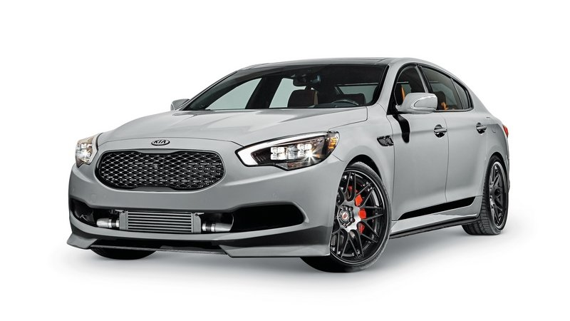 2015 Kia High-Performance K900
