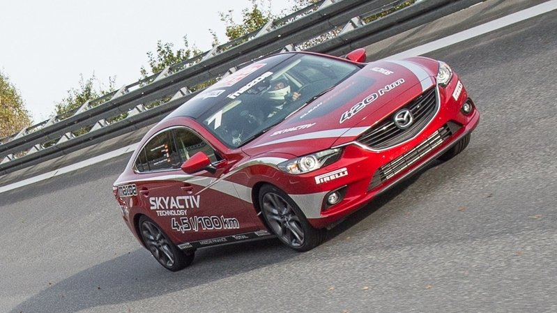 Mazda6 Diesel Breaks the 24-Hour Speed Record