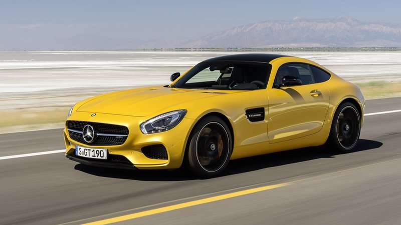 Mercedes-AMG GT Will Be A Multi-Generational Model High Resolution Exterior - image 571983