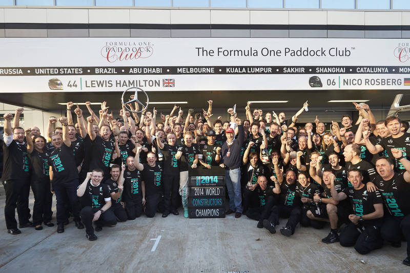Mercedes AMG Petronas Secures First-Ever Formula One Constructors' Championship - image 572619