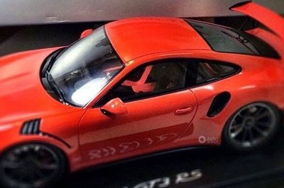 Porsche GT3 RS Leaked Through Scale Model, Likely to Remain Naturally Aspirated