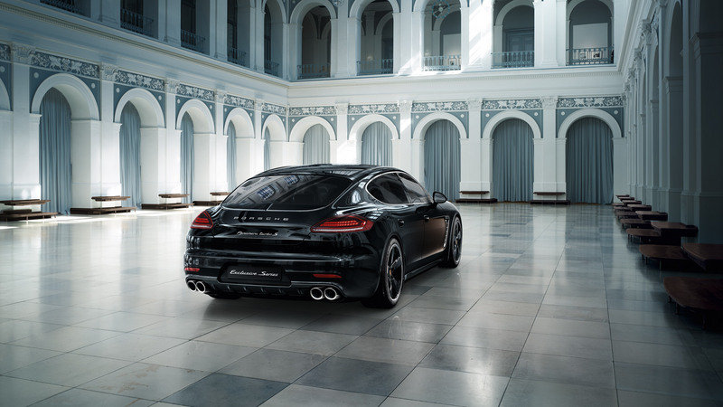 2015 Porsche Panamera Exclusive Series High Resolution Exterior - image 575057