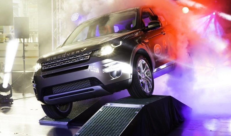 Production of the Land Rover Discovery Sport Begins