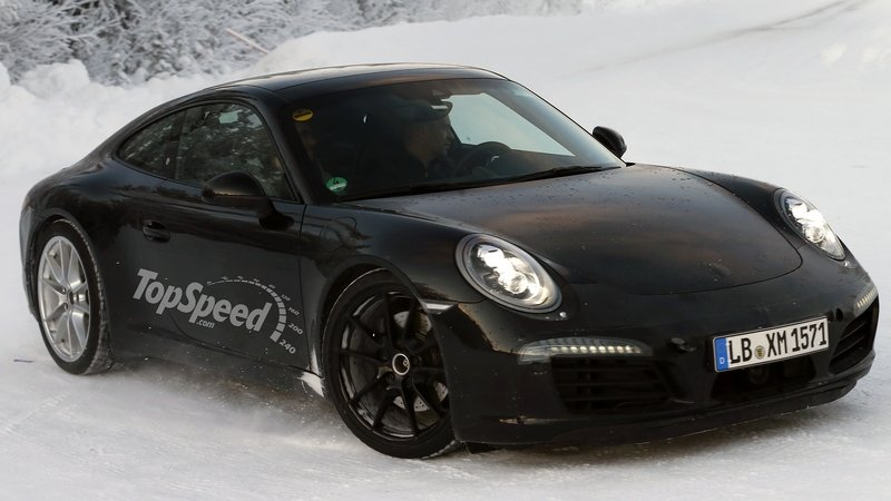 Refreshed Porsche 911 Carrera and Carrera S Going Turbo