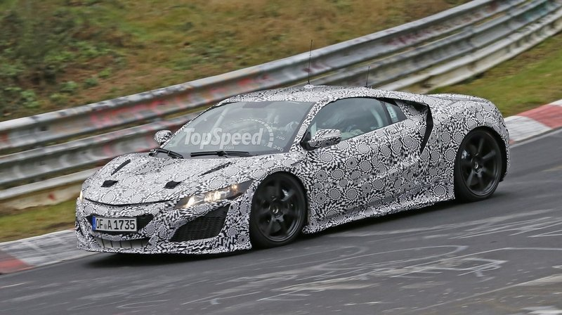 Spy Shots: Acura NSX Goes for Another Testing Session