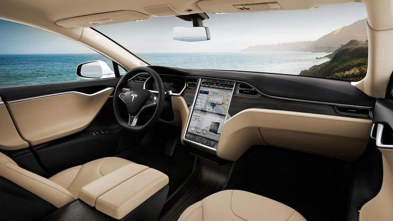 2015 Tesla Model S High Resolution Interior - image 572380