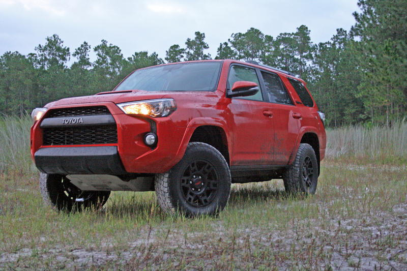 Toyota 4Runner TRD Pro vs. Jeep Wrangler Unlimited