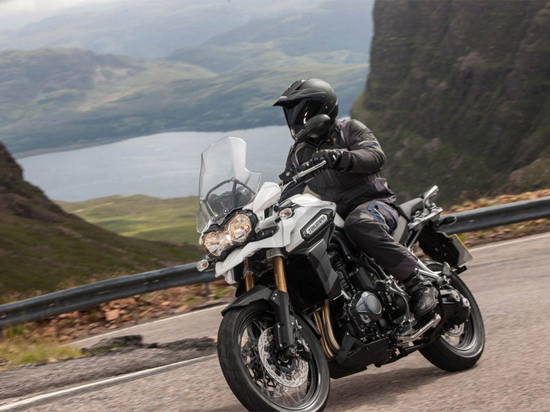 2015 Triumph Tiger Explorer Spoked Wheels