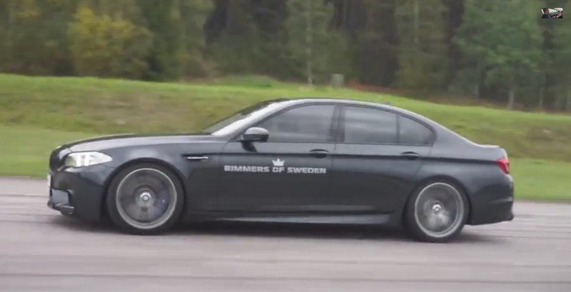Can a BMW M5 Actually Outrun a Ferrari FF?: Video