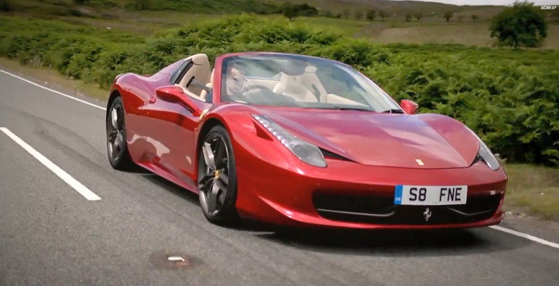 Video: Ferrari 458 Spider Reviewed by XCAR