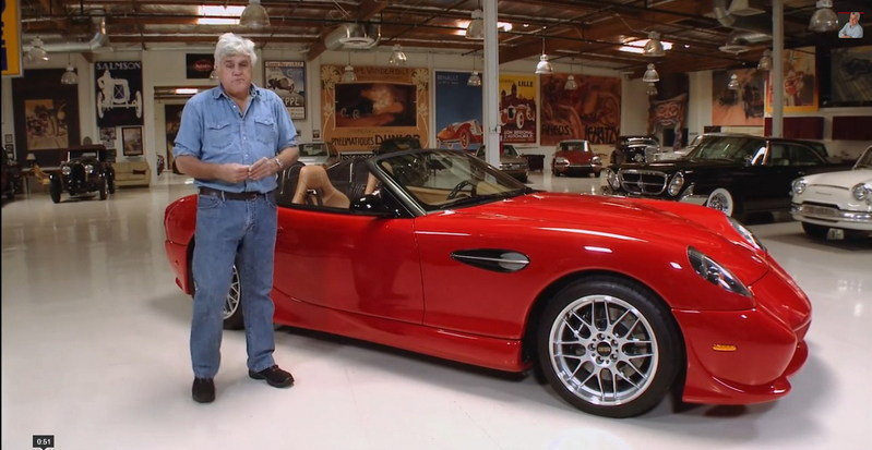 Video: Jay Leno Reviews the Panoz Esperante Spyder GT