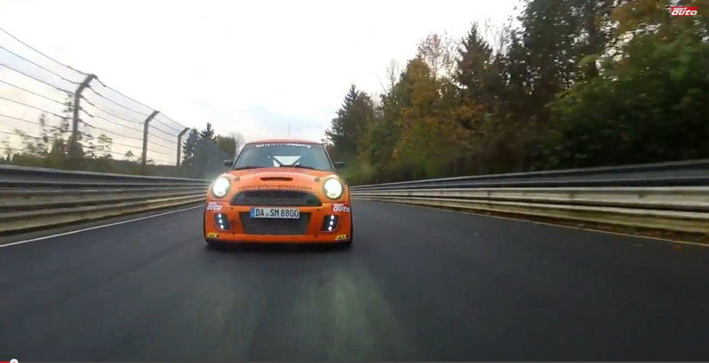 Video: Mini JCW Sets New FWD Lap Record at Nurburgring