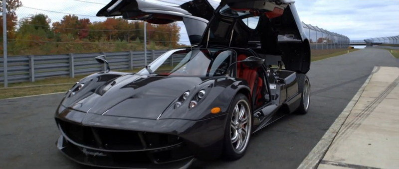 Video: Pagani Huayra Takes on an American Raceway
