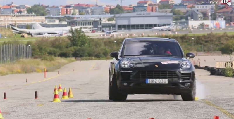 Video: Porsche Macan Diesel S Fails Moose Test; Porsche Issues Response