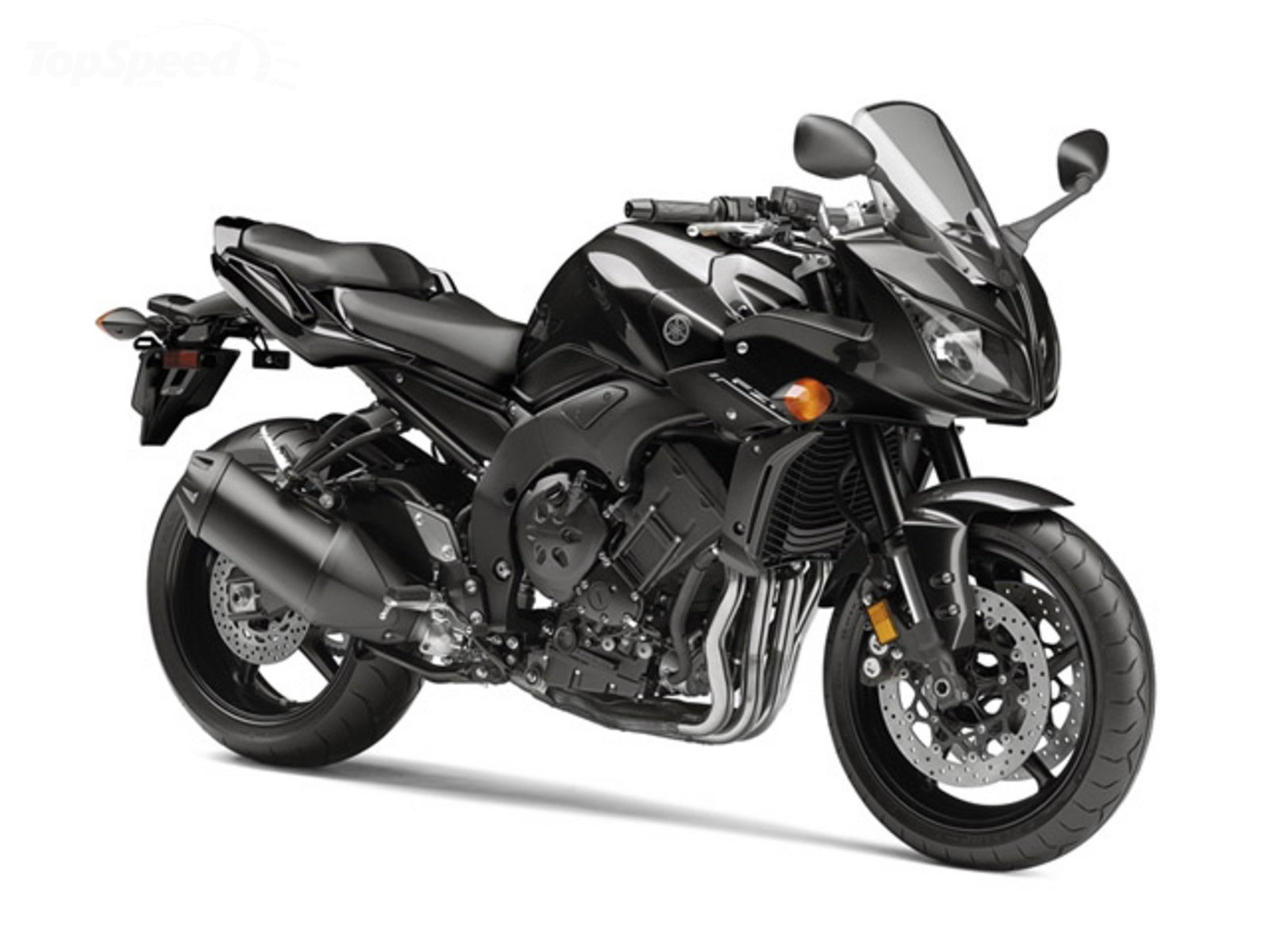 Download wallpapers Yamaha FZ1-N, silver motorcycle, new