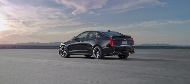 2016 Cadillac ATS-V Sedan High Resolution Exterior - image 578302