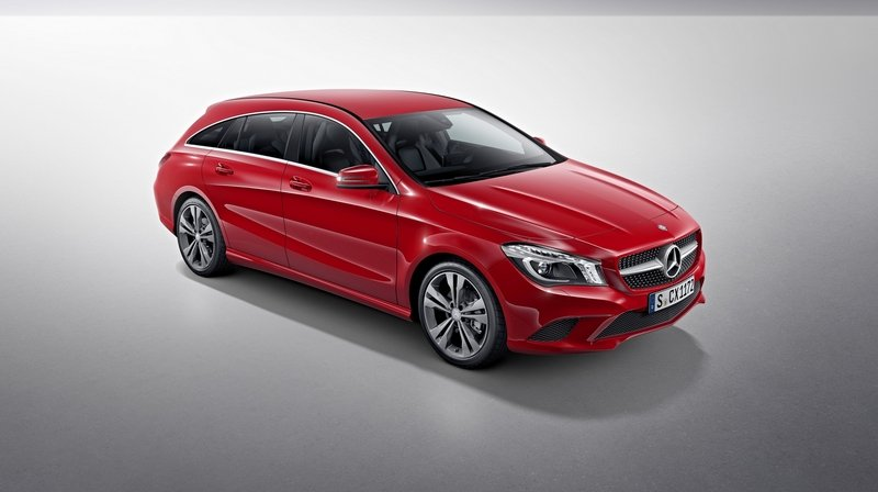 2015 Mercedes CLA Shooting Brake