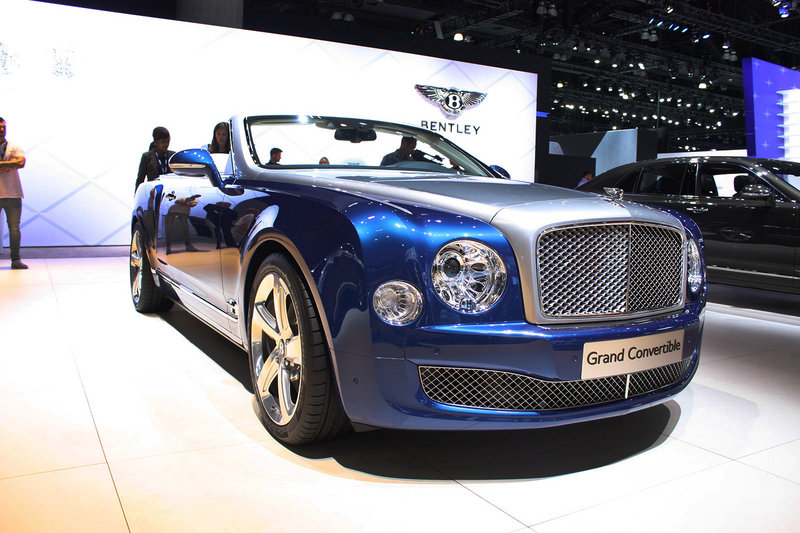 2015 Bentley Grand Convertible Concept Exterior - image 579540