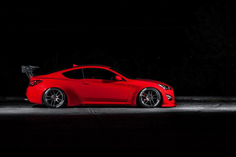 2015 Hyundai Genesis Coupe By Blood Type Racing High Resolution Interior Exterior - image 576184