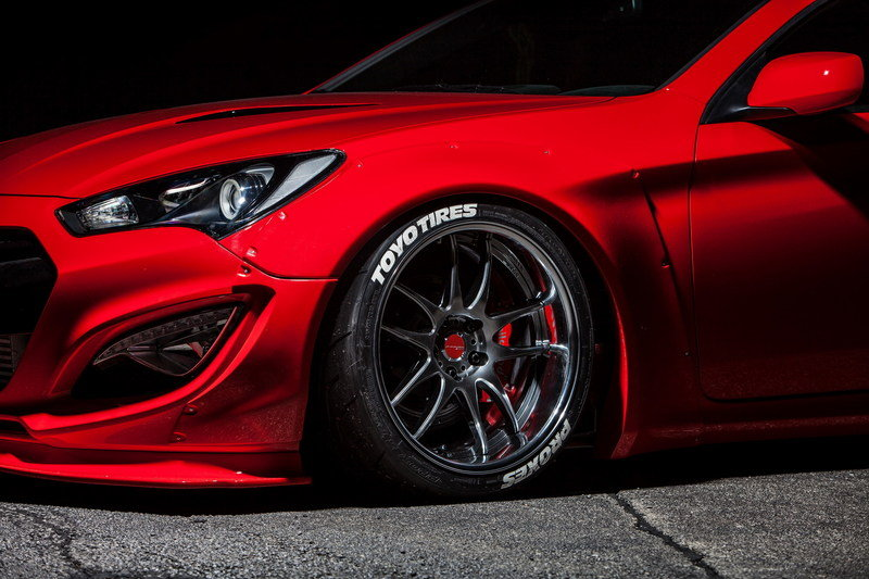 2015 Hyundai Genesis Coupe By Blood Type Racing