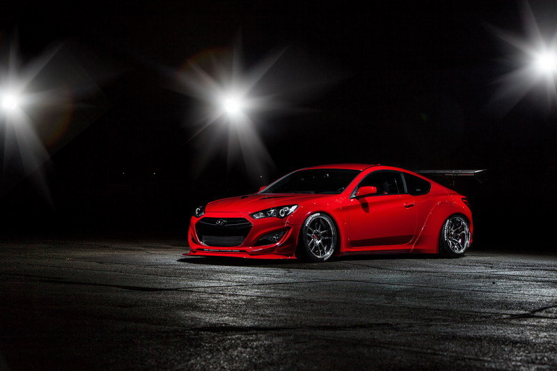 2015 Hyundai Genesis Coupe By Blood Type Racing High Resolution Exterior - image 576180