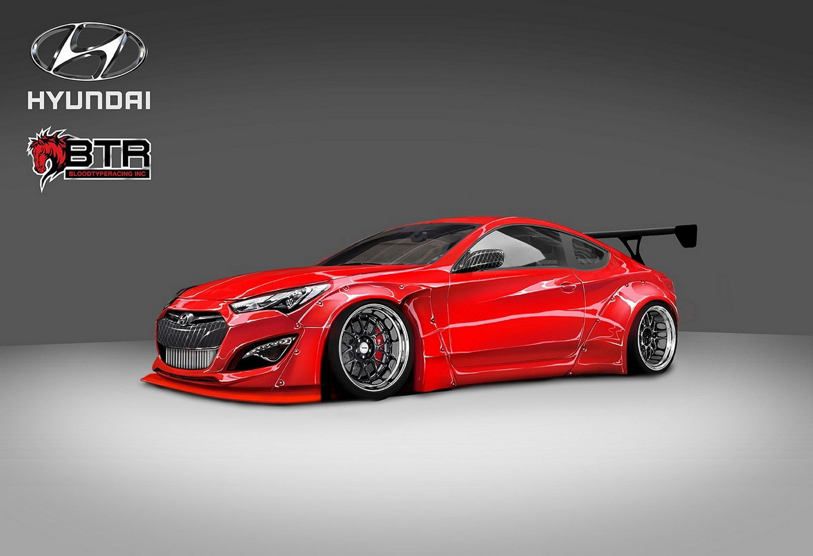 2015 hyundai genesis coupe by blood type racing picture 576175 car review top speed. Black Bedroom Furniture Sets. Home Design Ideas