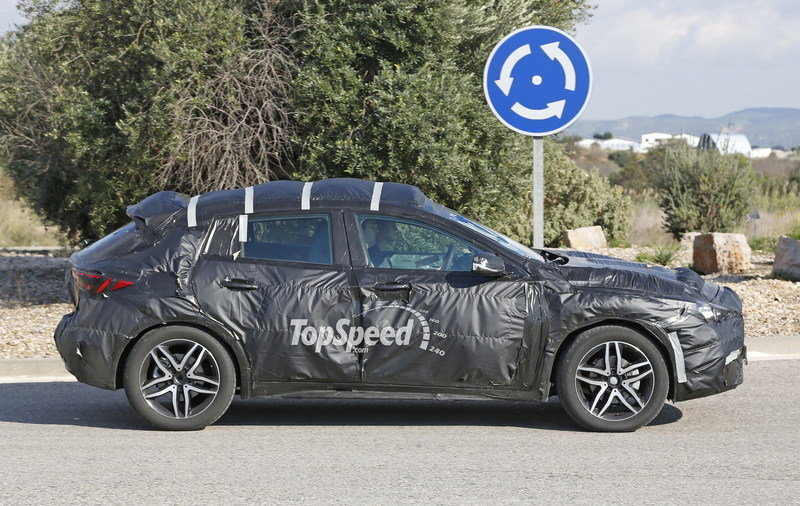 Spy Shots: Infiniti Q30 Caught Testing For The First Time
