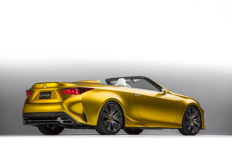 2015 Lexus LF-C2 Concept High Resolution Exterior - image 578768