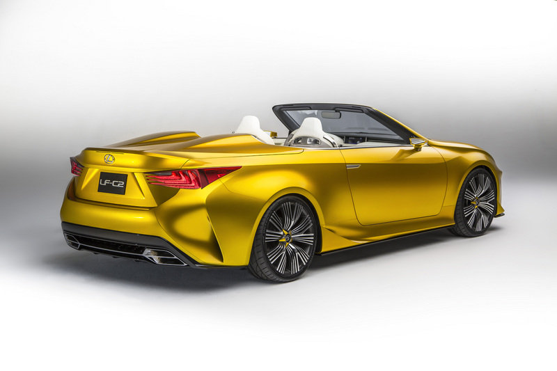 2015 Lexus LF-C2 Concept High Resolution Exterior - image 578769