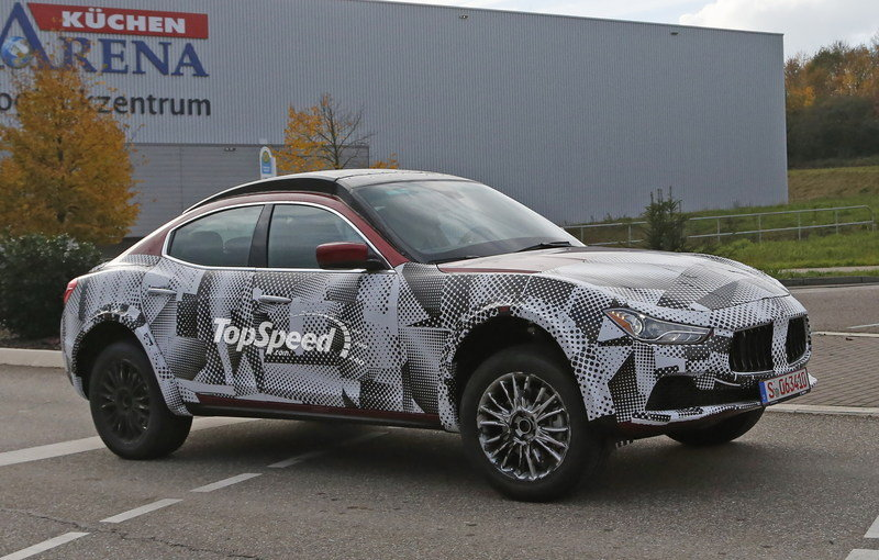 Maserati Levante Set to Debut in 2016
