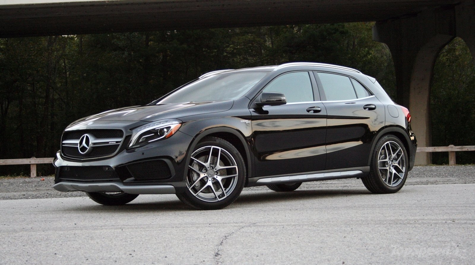 2015 mercedes benz gla 45 amg driven review top speed for Mercedes benz 2015 gla