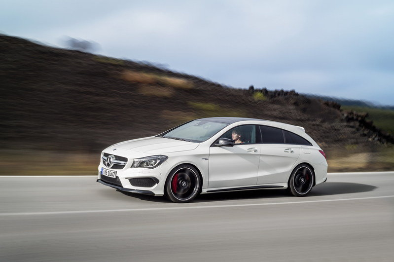 2016 Mercedes CLA45 AMG Shooting Brake High Resolution Exterior - image 580328
