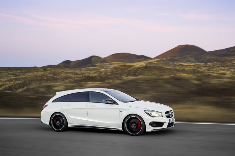 2016 Mercedes CLA45 AMG Shooting Brake High Resolution Exterior - image 580329
