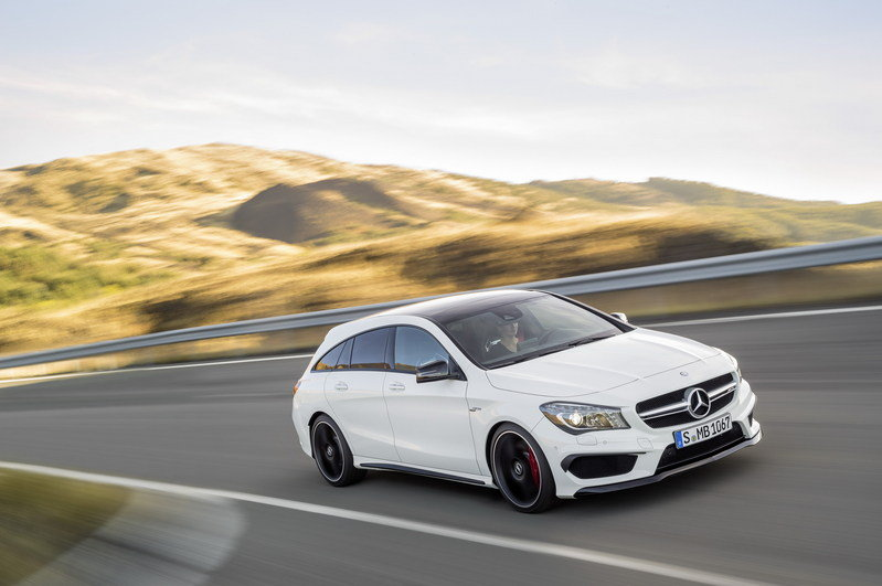 2016 Mercedes CLA45 AMG Shooting Brake High Resolution Exterior Wallpaper quality - image 580330