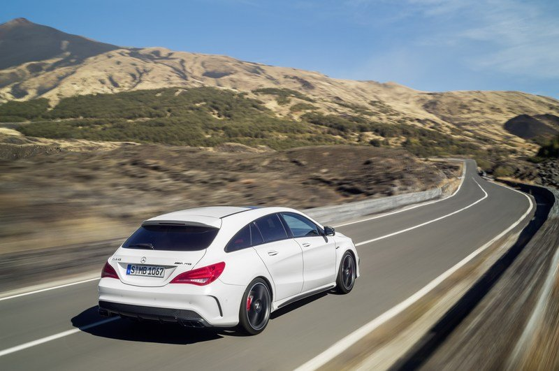2016 Mercedes CLA45 AMG Shooting Brake High Resolution Exterior - image 580331