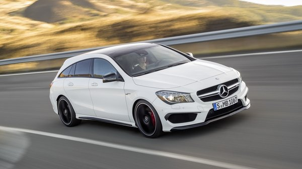 The CLA45 AMG Shooting Brake will be unveiled in Geneva in 2915, and Mercedes has revealed its preliminary information today.
