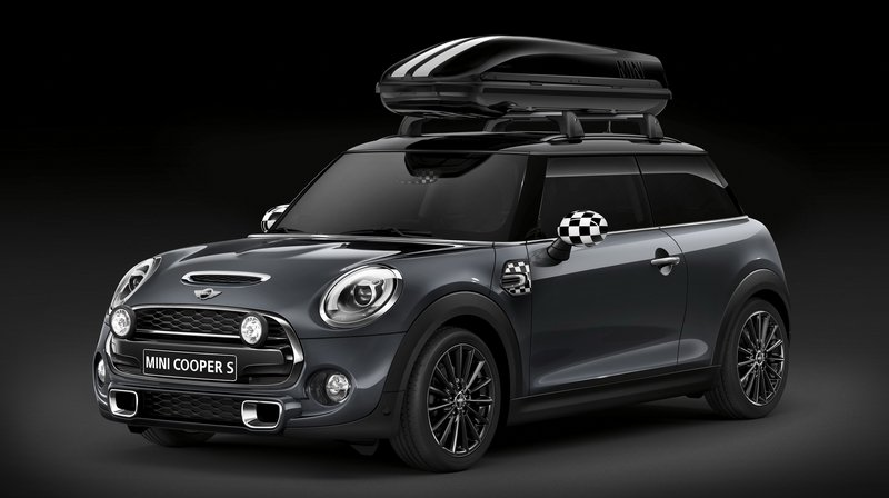 2015 MINI Cooper S with John Cooper Works Pro Parts