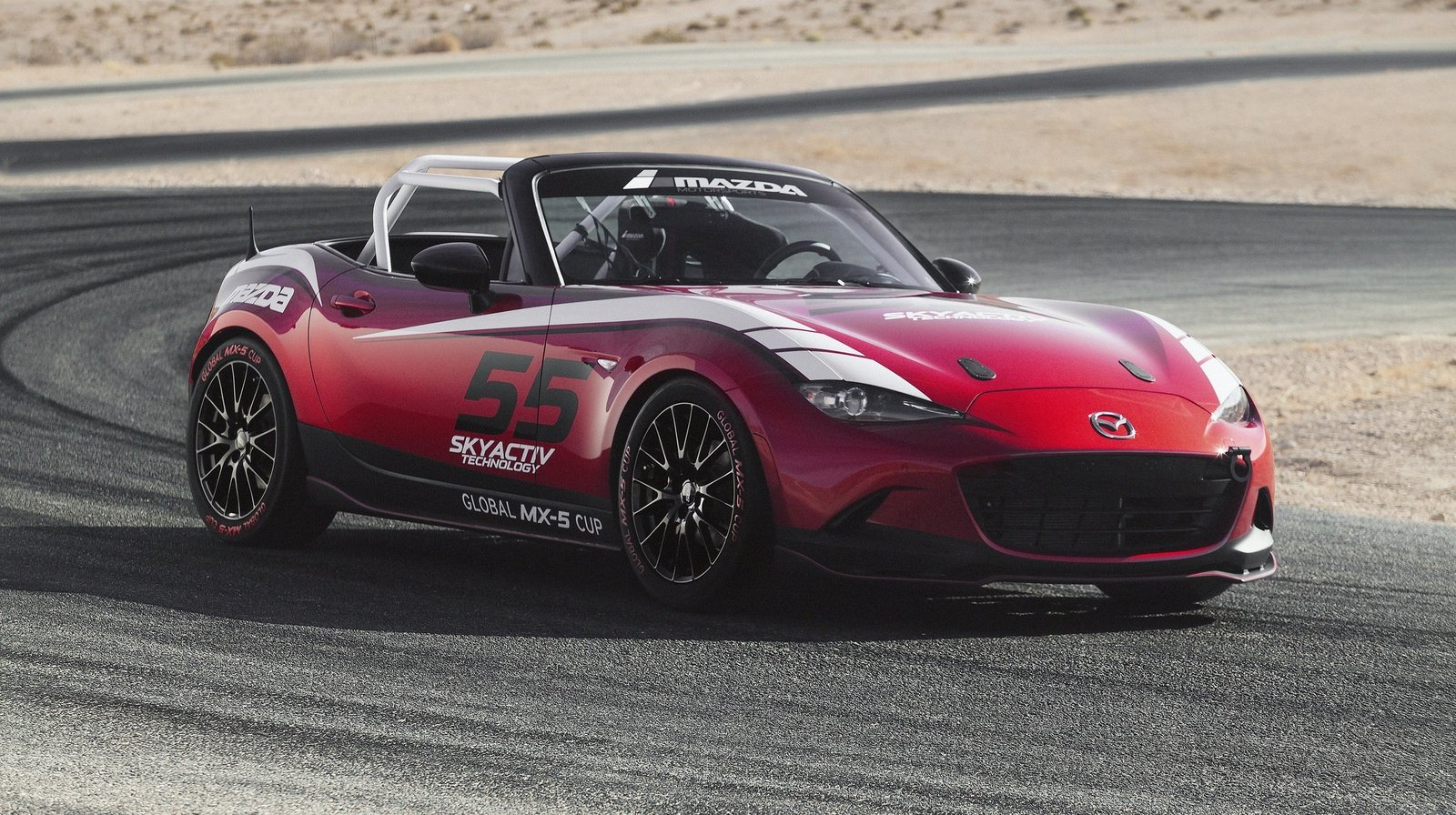 2015 mazda mx 5 cup racecar review top speed. Black Bedroom Furniture Sets. Home Design Ideas