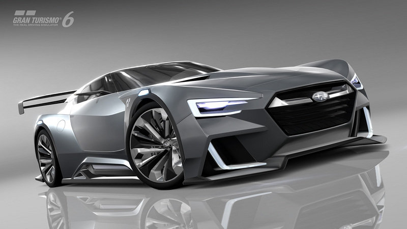 2015 Subaru Viziv GT Vision Gran Turismo Computer Renderings and Photoshop - image 578186