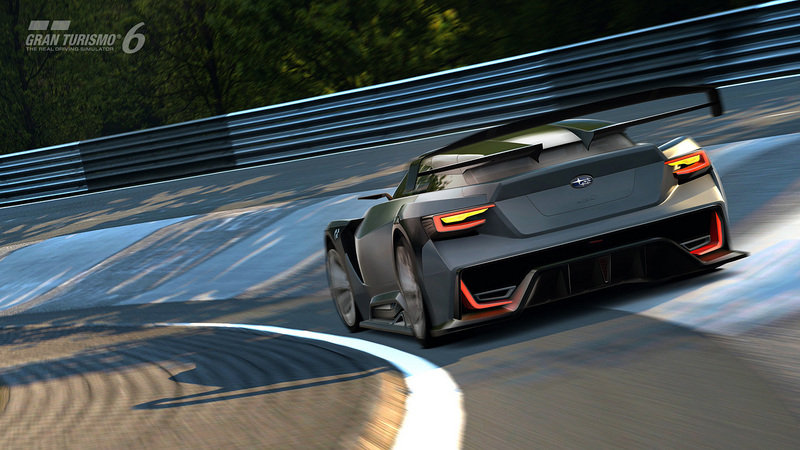 2015 Subaru Viziv GT Vision Gran Turismo Computer Renderings and Photoshop - image 578192