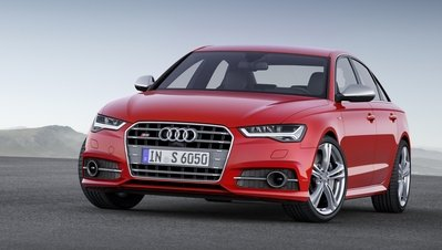 The S6 will arrive with a refreshed look and a more powerful, V-8 engine for the 2016 model year.