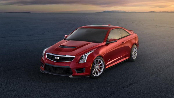 2016 Cadillac ATS-V Coupe Review - Top Speed