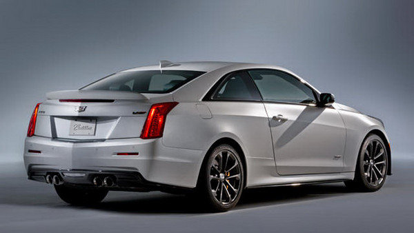 2016 Cadillac ATS-V Coupe   car review @ Top Speed