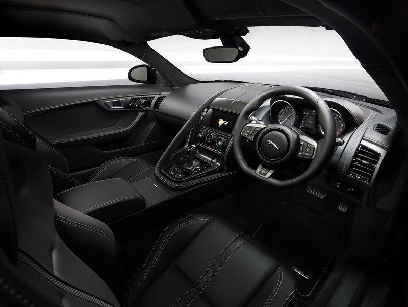 2016 Jaguar F-Type AWD Coupe High Resolution Interior - image 578547