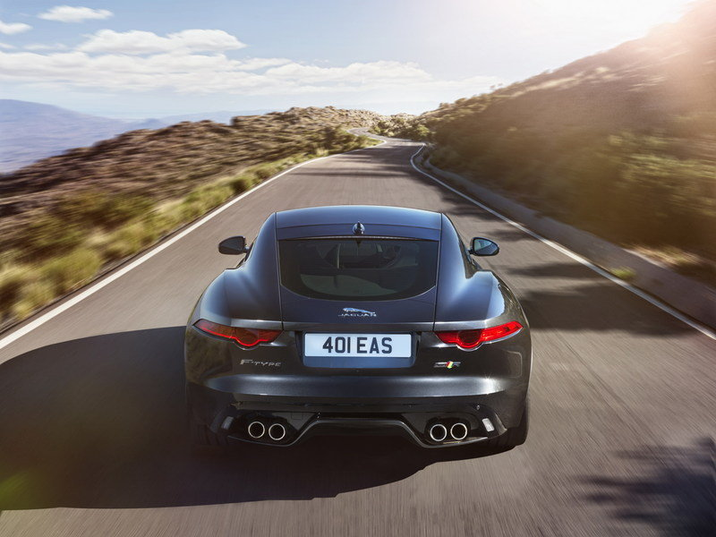 2016 Jaguar F-Type AWD Coupe High Resolution Exterior - image 578541