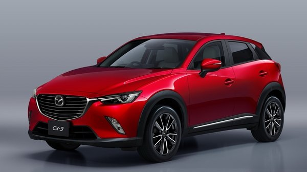 After a lot of waiting, here it is folks: the 2016 Mazda CX-3.