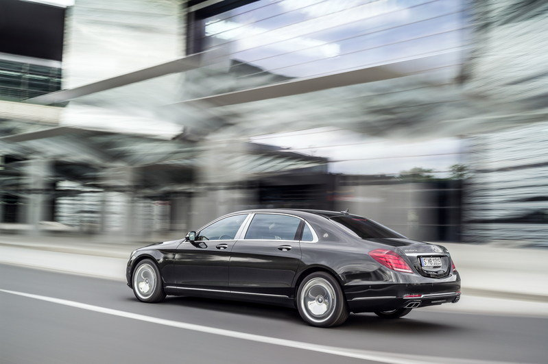2016 Mercedes-Maybach S-Class High Resolution Exterior - image 578394